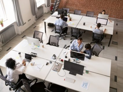 escritório open space
