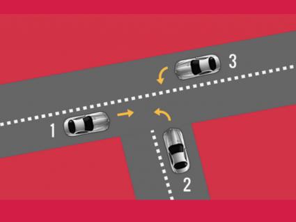 cruzamento de carros
