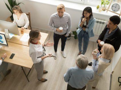 reunião de início dos estágios profissionais