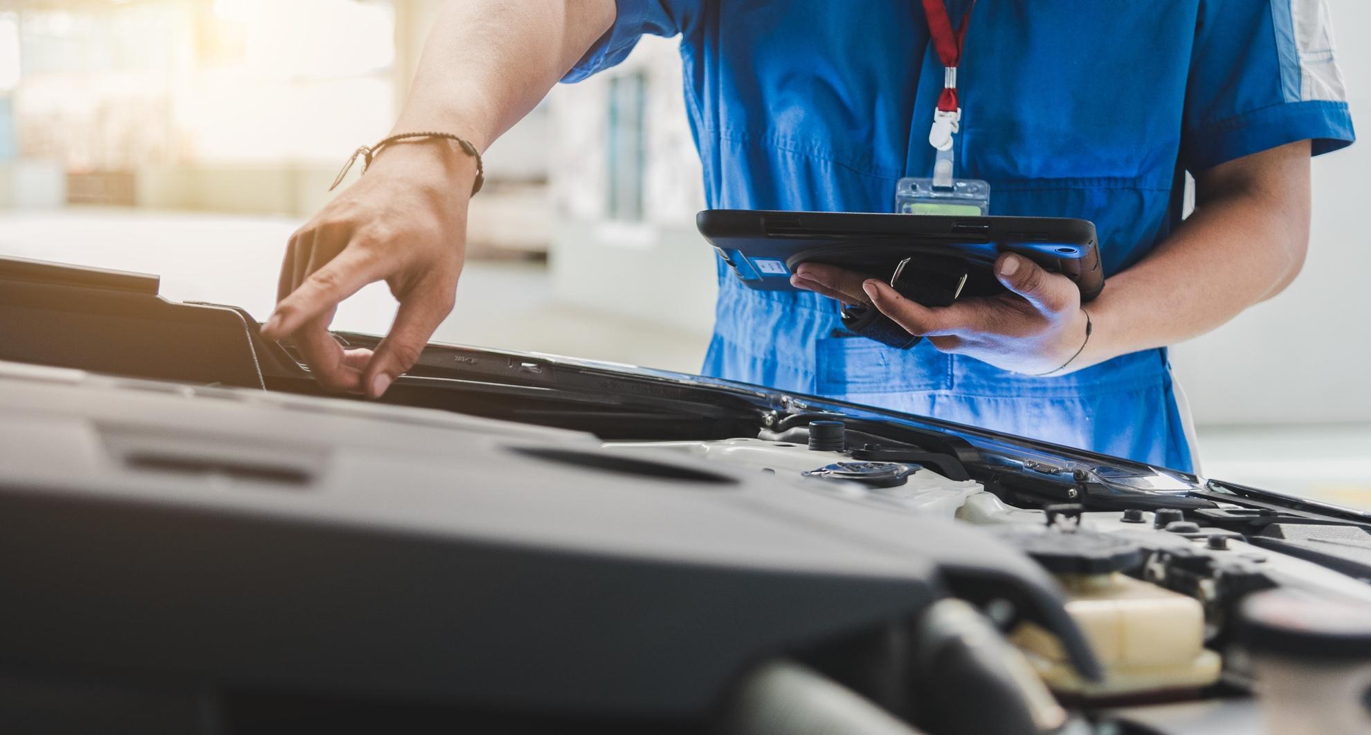 inspecao do carro