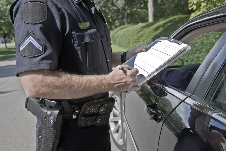 policia a multar