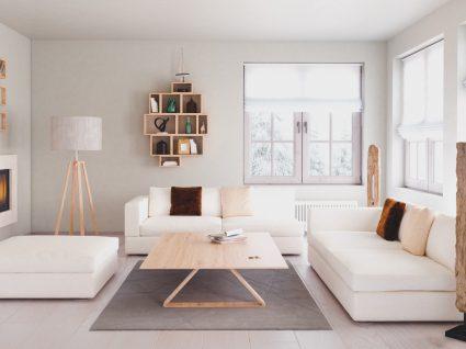 sala decorada ao estilo escandinavo