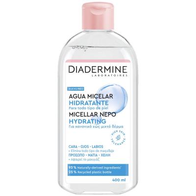 agua micelar diadermine