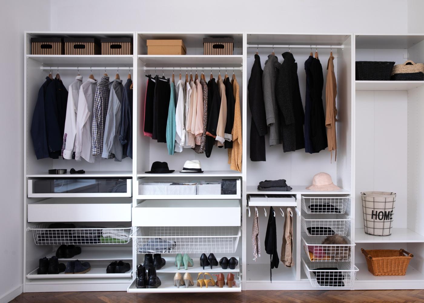 Quer arrumar seu closet? Siga as dicas de como organizar