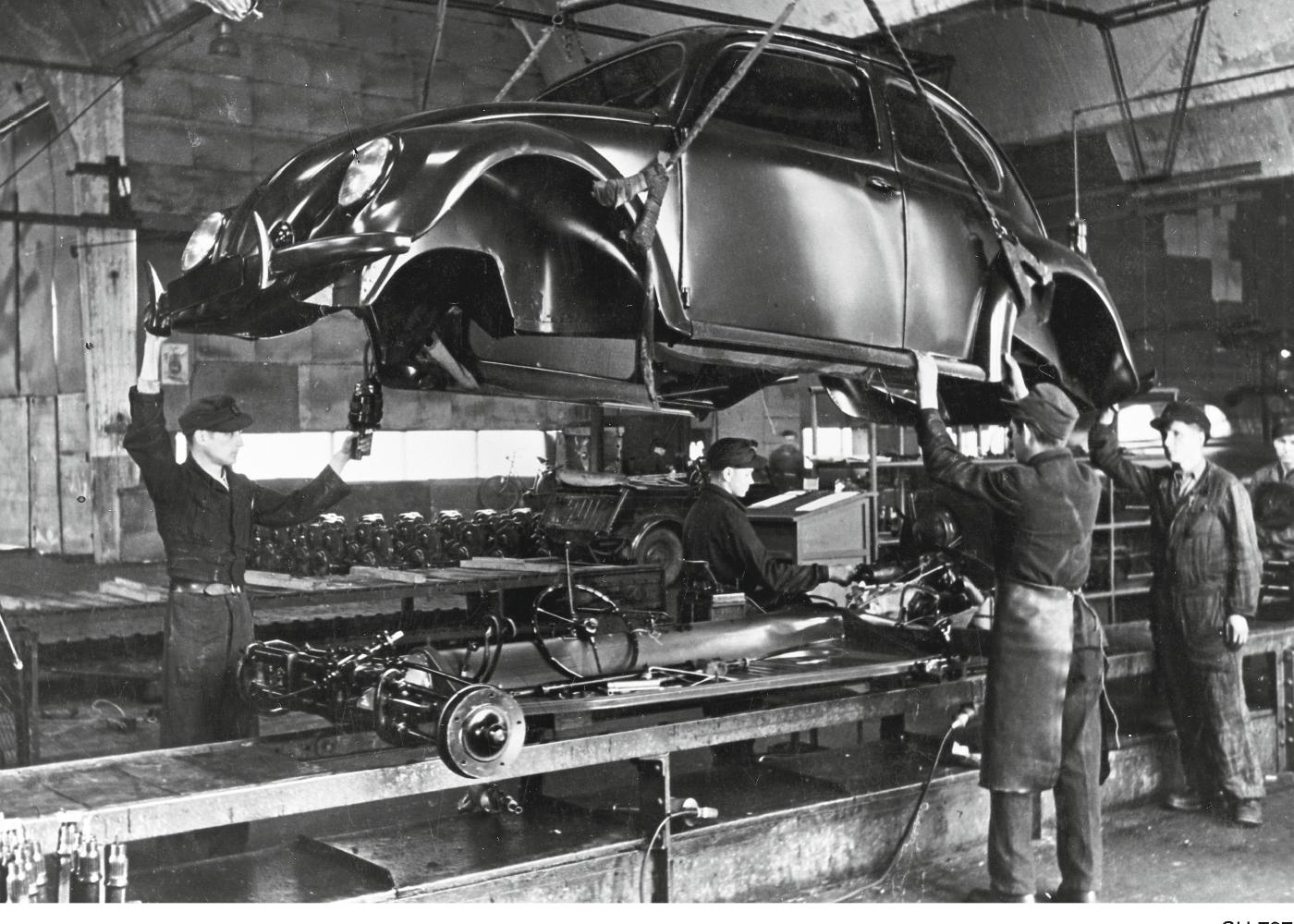 produção do Volkswagen Carocha