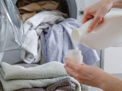 Detergente para roupa em pó ou líquido