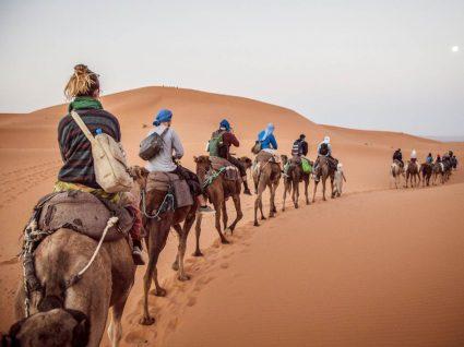 Viagem pelo deserto de Marrocos