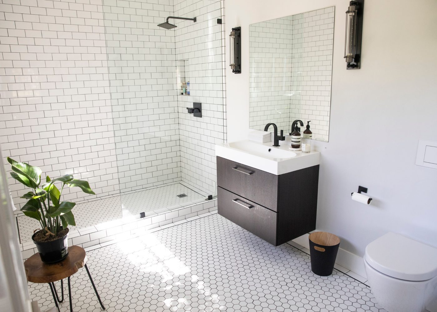 poliban em casa de banho
