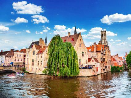 Vista da cidade de Bruges