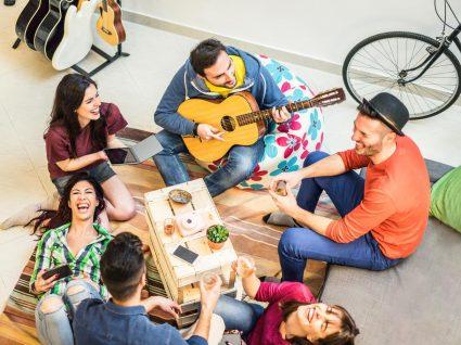 Escolha entre hostel ou airbnb