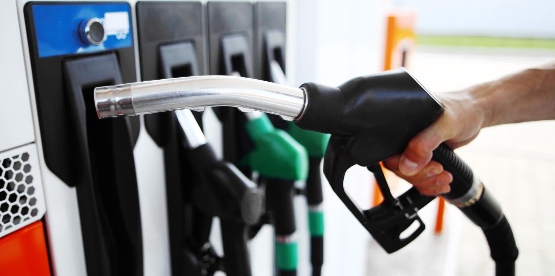 por gasolina