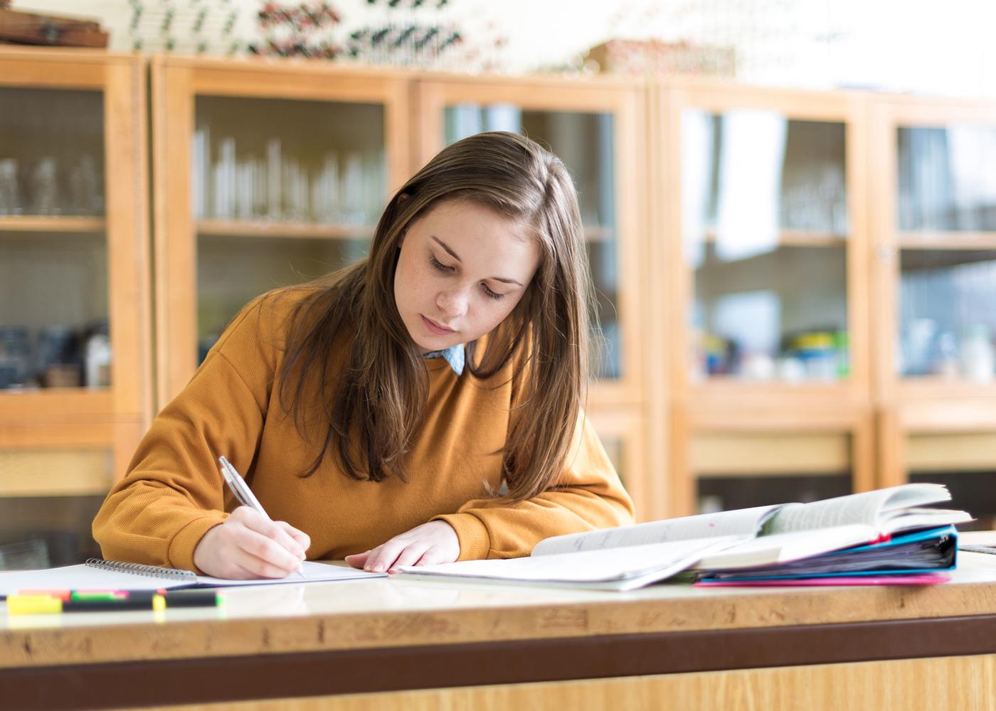 estudar para os exames nacionais