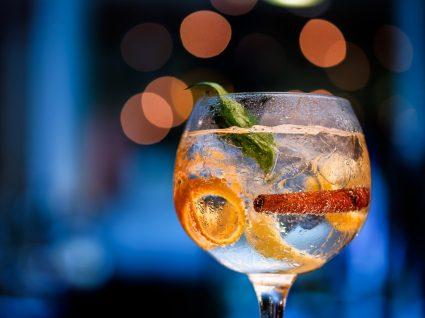 Copo com gin português