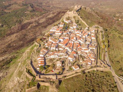 Vila de Marvão na Serra de São Mamede