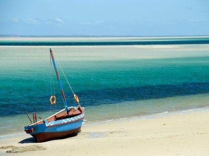 Praias de Moçambique no Oceano Índico