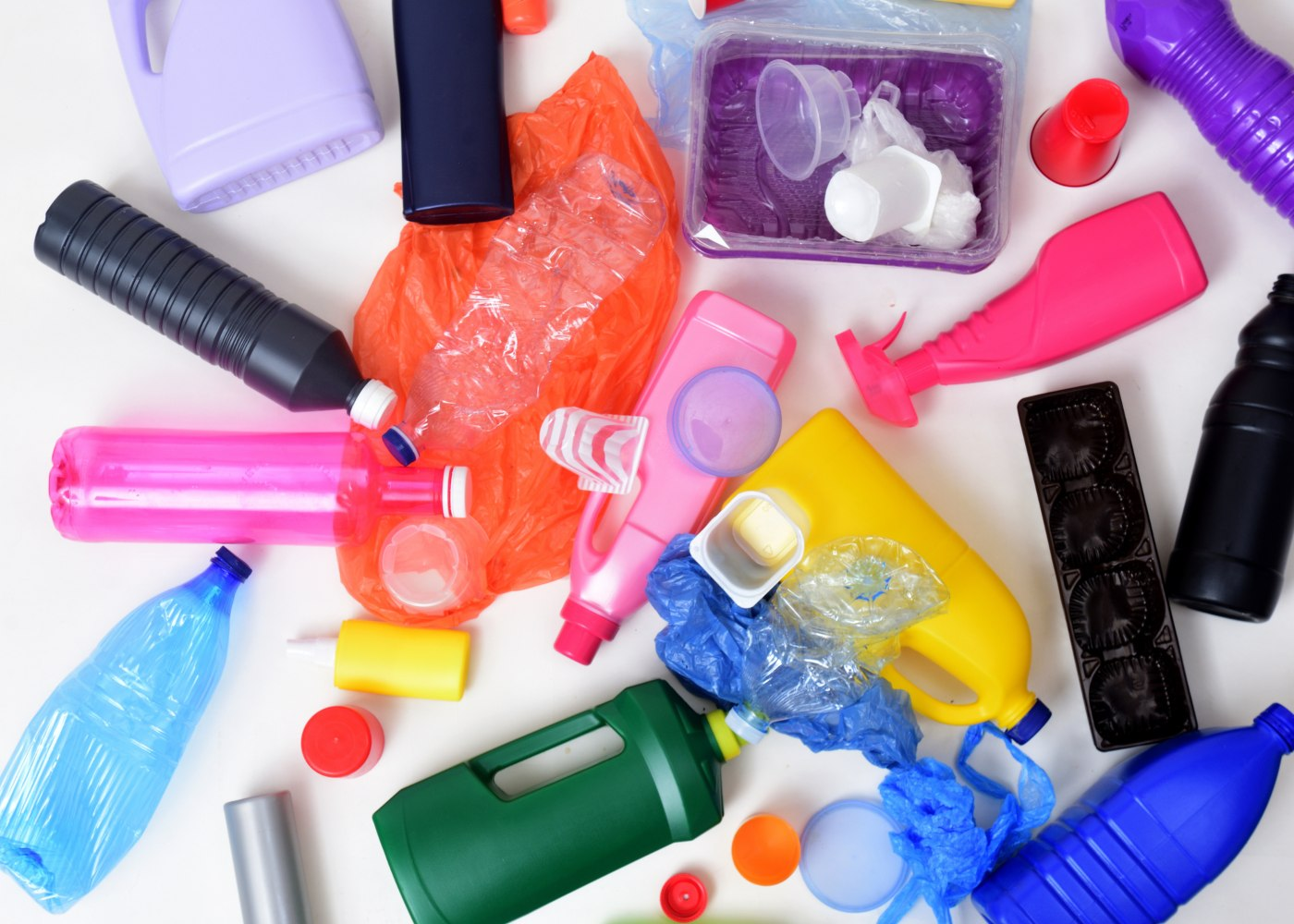 produtos de plástico que deve deixar de usar