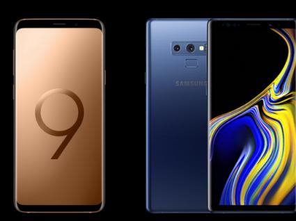 Samsung Galaxy S9 vs Galaxy Note 9: saiba qual escolher