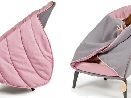 Esta cadeira é super confortável e dispensa cobertores
