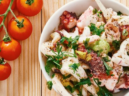 5 receitas de polvo saudáveis para uma dieta com sabor