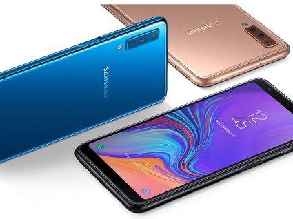 Samsung Galaxy A7: mais espaço para a inteligência artificial