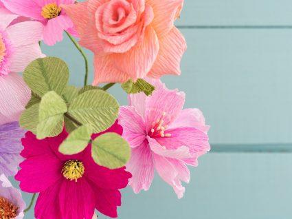 Flores de papel: a opção certa para qualquer ocasião e espaço