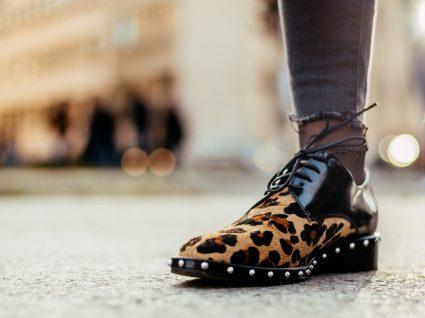 sapatos com animal print