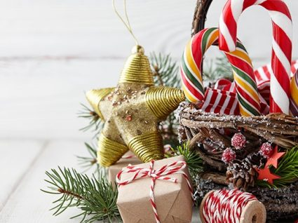 Como criar cabazes de Natal originais (com pouco dinheiro)