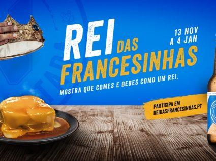 Cerveja Nortada vai oferecer um ano de cerveja grátis ao Rei das Francesinhas