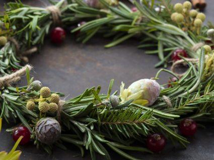 Coroa de Natal comestível: uma delícia para ver e comer