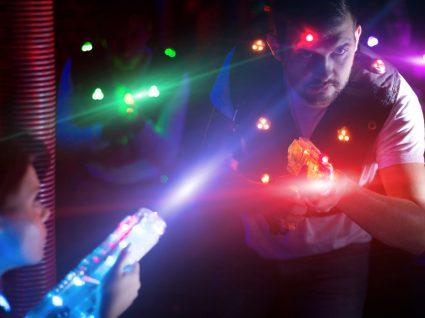 Laser tag: conheça esta atividade inspirada no imaginário de guerra