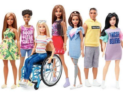 Barbie mais inclusiva: agora com linha de bonecas com deficiências físicas