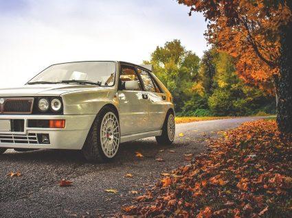 Lancia Delta Integrale: rally todos os dias