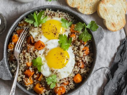 Batata-doce com ovo: a combinação mais-que-perfeita