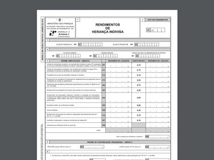 Anexo I do IRS: o que precisa de saber
