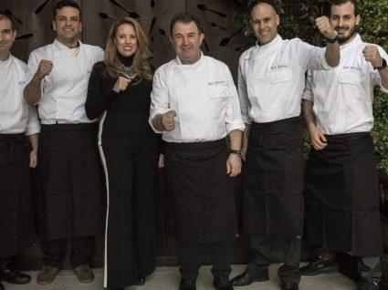 Portuguesa Prochef veste um dos chefs mais estrelados do mundo