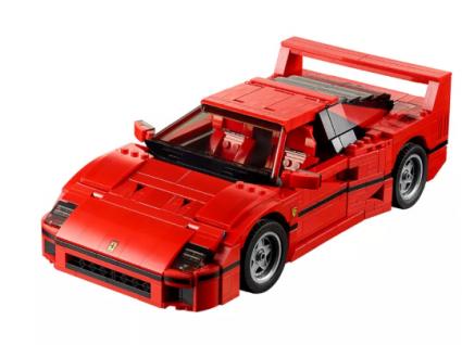 Carros lego: grandes máquinas para montar às peças