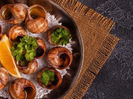 4 receitas de caracóis de comer e chorar por mais
