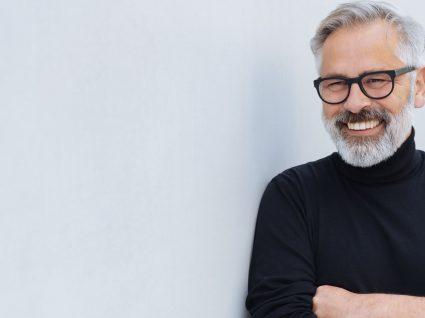Cabelo grisalho: cuidados a ter pelos homens