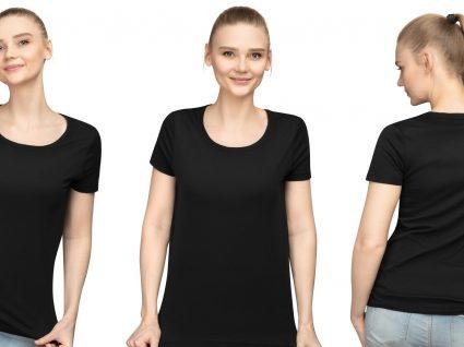 6 formas de usar a t-shirt preta básica com muito estilo