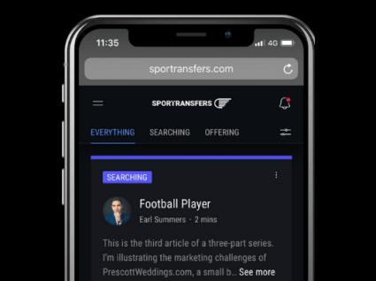 Sportransfers: plataforma revoluciona contratação no desporto