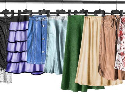 As saias de cetim são tendência: saiba como usá-las!