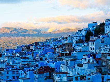 Renda-se a Chefchaouen, a pérola azul de Marrocos