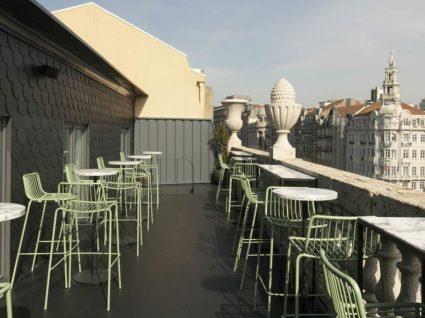 Auru Bar: um novo rooftop de culto no coração do Porto