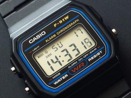Lembra-se dos relógios Casio? Um clássico sempre na moda