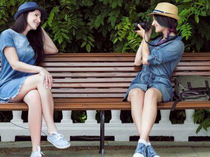 Inspiração: 7 looks com vestidos de ganga que vai adorar