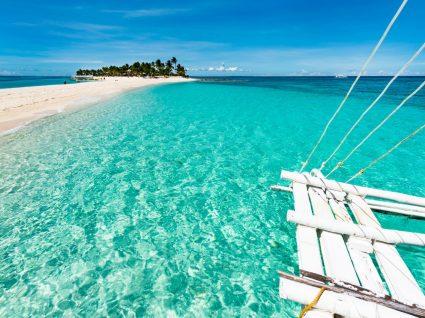 Kalanggaman: relaxe na ilha do pôr-do-sol mágico