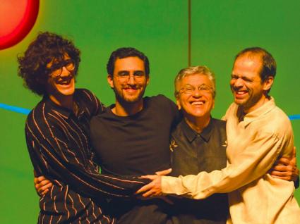 Ofertório de Caetano, Moreno, Tom e Zeca celebra a alegria em 6 cidades portuguesas