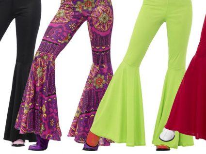 Ícone dos anos 70: as calças à boca de sino estão de volta!
