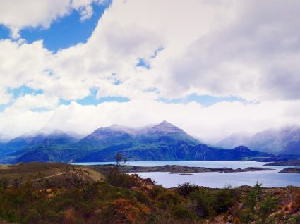 À boleia pela cordilheira dos Andes