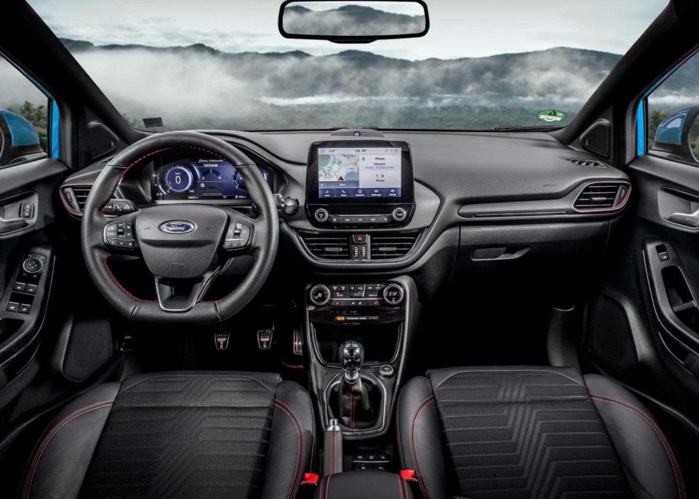 Interior Novo Ford Puma